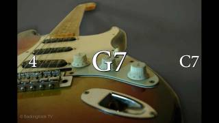 Blues Guitar Backing Track in G