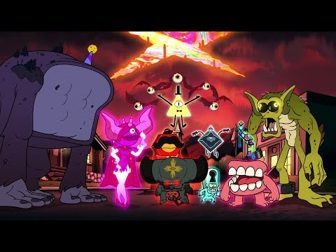 Gravity Falls - Bill's Friends