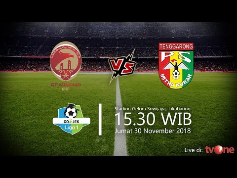 Jadwal Live TV One Liga 1 2018 Sriwijaya FC Vs Mitra Kukar, Jumat Pukul 15.30 WIB