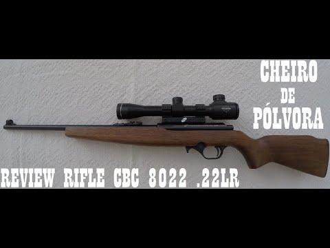 Review Rifle CBC 8022 Bolt Action .22LR (HD video)