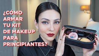 Kit básico de maquillaje para PRINCIPIANTES ¿Qué comprar?  | Anna Sarelly