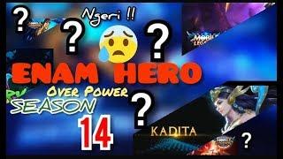 Download 6 HERO MOBILE LEGENDS OVER POWER°||SEASON 14