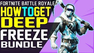 HOW TO GET NEW Fortnite DEEP FREEZE BUNDLE Frostbite Outfit, Cold Front Glider, Chill Axe Pickaxe