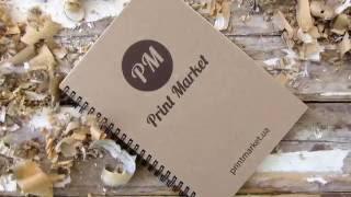 видео Изготовление и печать блокнотов с логотипом