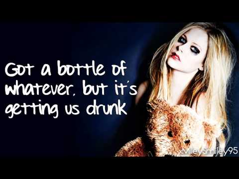 Avril Lavigne - Here's To Never Growing Up (with lyrics)