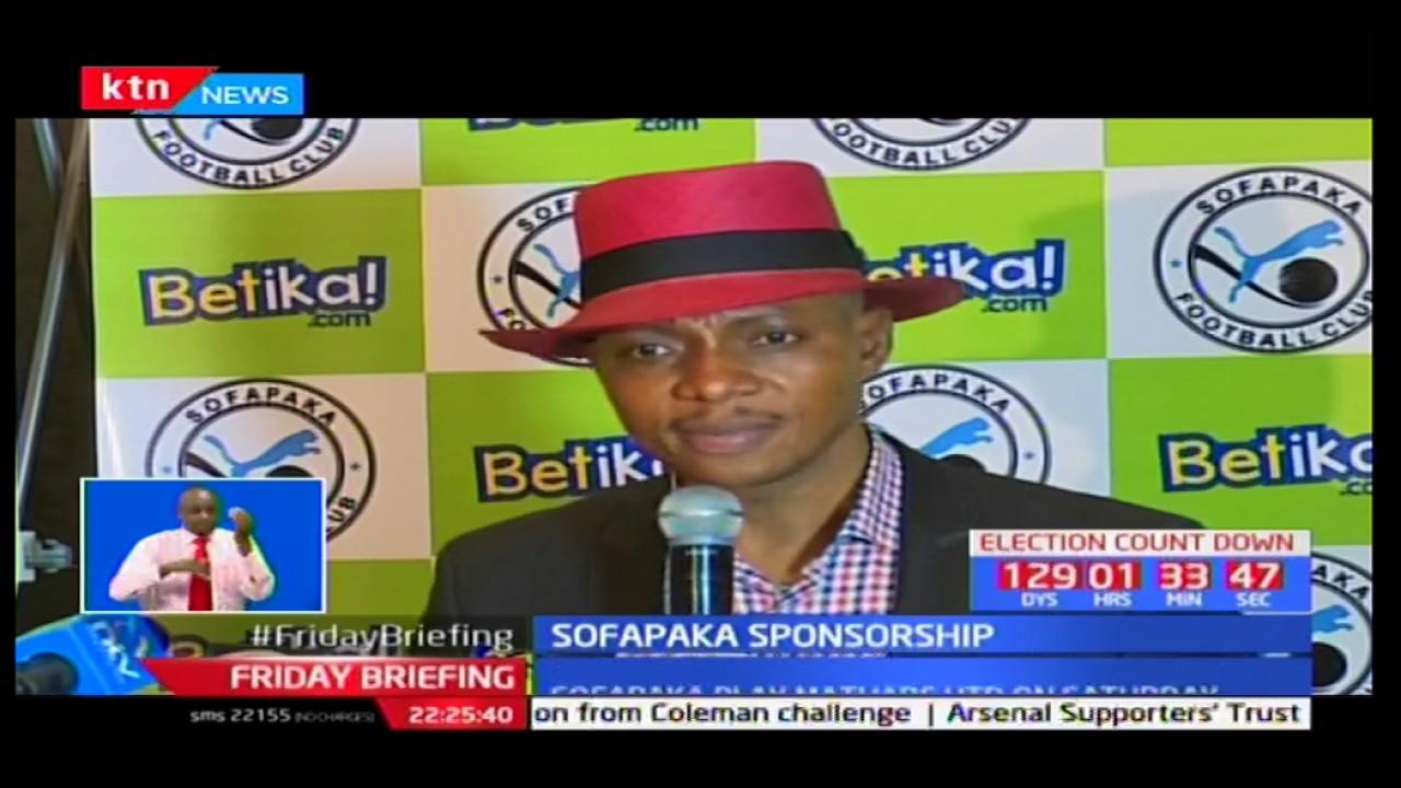 Sofapaka seals Shs 50 million sponsorship deal with Betika