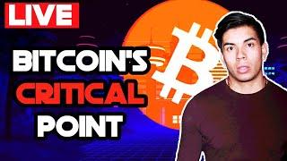 Bitcoin at a critical point! Bitcoin technical Analysis LIVE