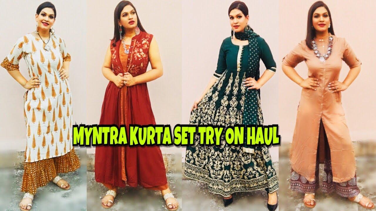 Myntra Kurti Haul 2018 Online Shopping At Myntra Best Kurta