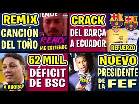 EL MEJOR JUGADOR DEL FC BARCELONA REFUERZO PARA UN GRANDE ECUADOR | 52 MILLONES DÉFICIT BARCELONA SC from YouTube · Duration:  15 minutes 26 seconds