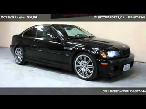 2002 BMW 3 series Coupe - for sale in Riverside, CA 92503 - YouTube
