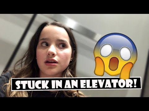 Stuck In An Elevator! 😱 WK 3805  Bratayley