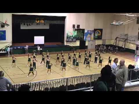 Grace king high school cheer 17/18