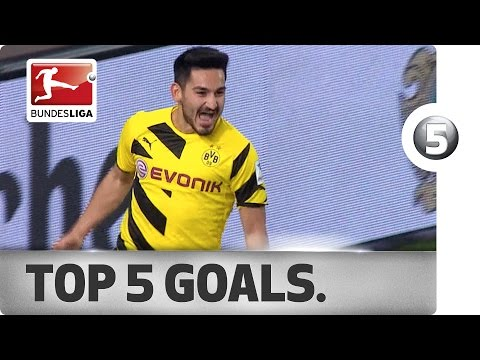 Ilkay Gündogan - Top 5 Goals