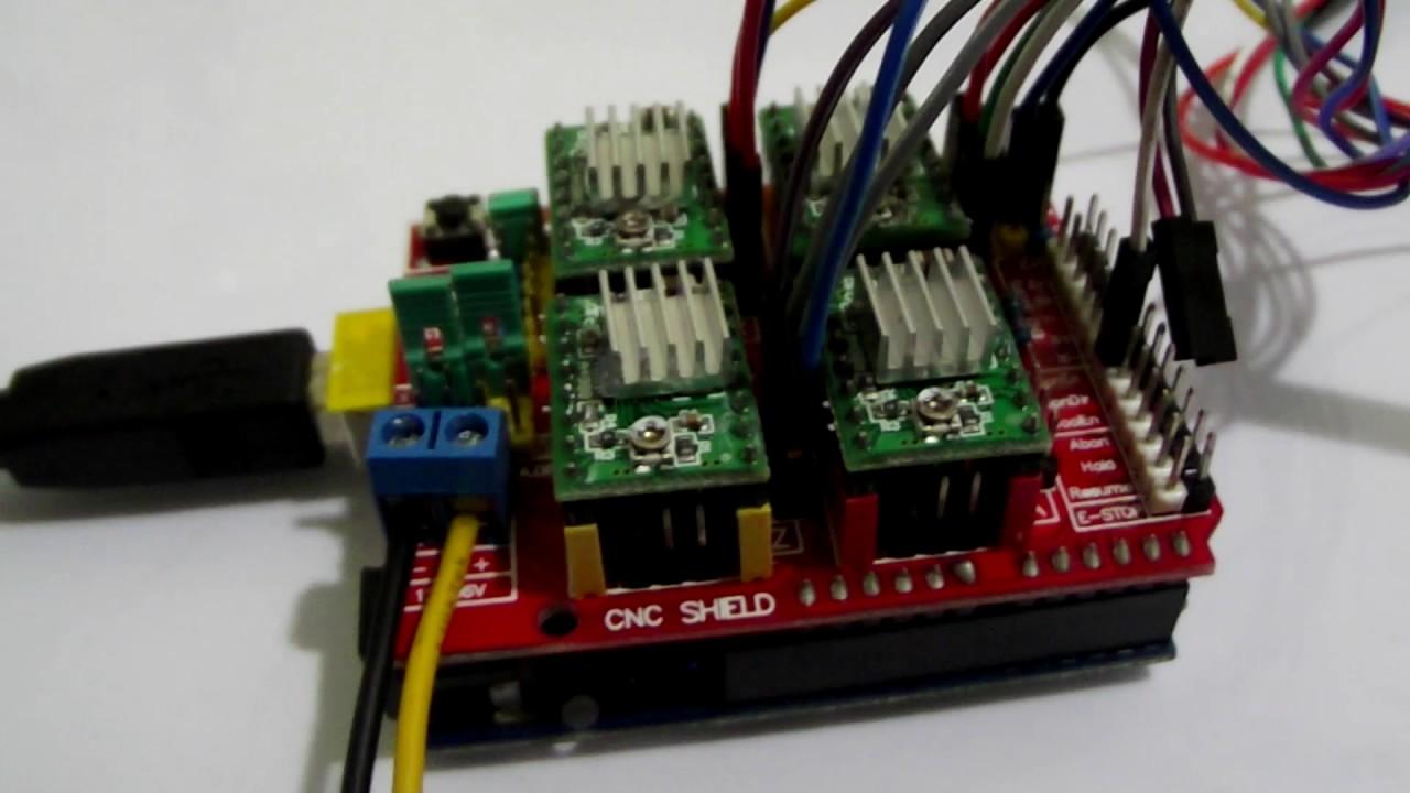 Cnc Controller Wiring Diagram Detailed Schematics Arduino Shield Power Supply