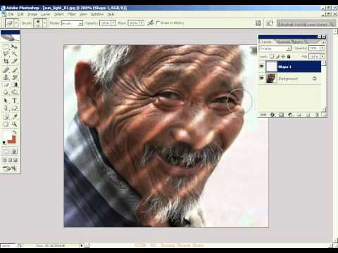 Photoshop CS2 - Phan 19 - Bai 6 - Tao bong ram tren doi tuong
