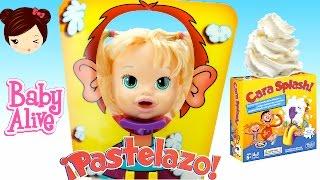 Baby Alive Muñeca Juega a Pastelazo Cara Splash - Juego de Mesa Pie Face thumbnail