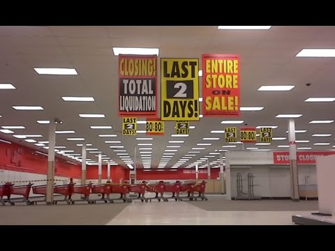 Target Canada Closing Last 2 Days Left Store Tour Walk 80 Off Final Day Liquidation