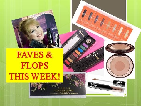FAVES & FLOPS This Month! Charlotte Kat Lorac NYX & More!