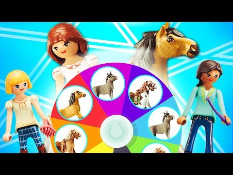 SPIRIT & LUCKY Play Spin The Wheel Game! | PLAY WITH TOYS