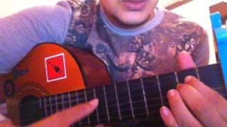 تعلم عزف اغنية (شوق قلبي كبير) على الجيتار shoog galbi kibir guitar lessons 2016