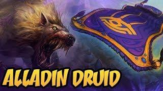 Alladin Druid | Saviors of Uldum | Hearthstone