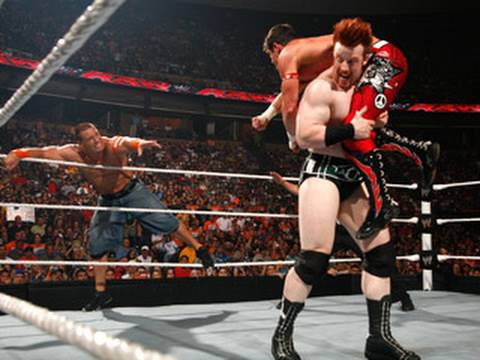 Raw: John Cena & Evan Bourne vs. Sheamus & Edge