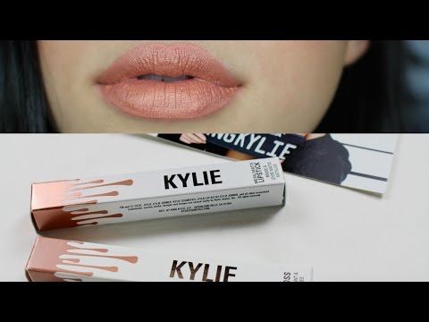 KYLIE COSMETICS HEIR & SO CUTE LIP SWATCH & REVIEW | JordanByers.com