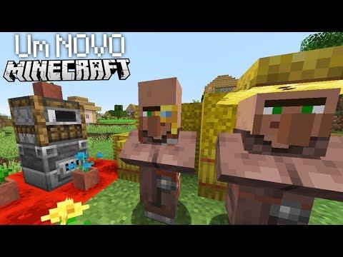 NOVOS VILLAGERS, NOVAS FORNALHAS, NOVO MINECRAFT! | Atualização De Minecraft (1.14)