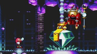 Sonic Mania: Knuckles Exclusive Boss Fight (Lava Reef Act 2)