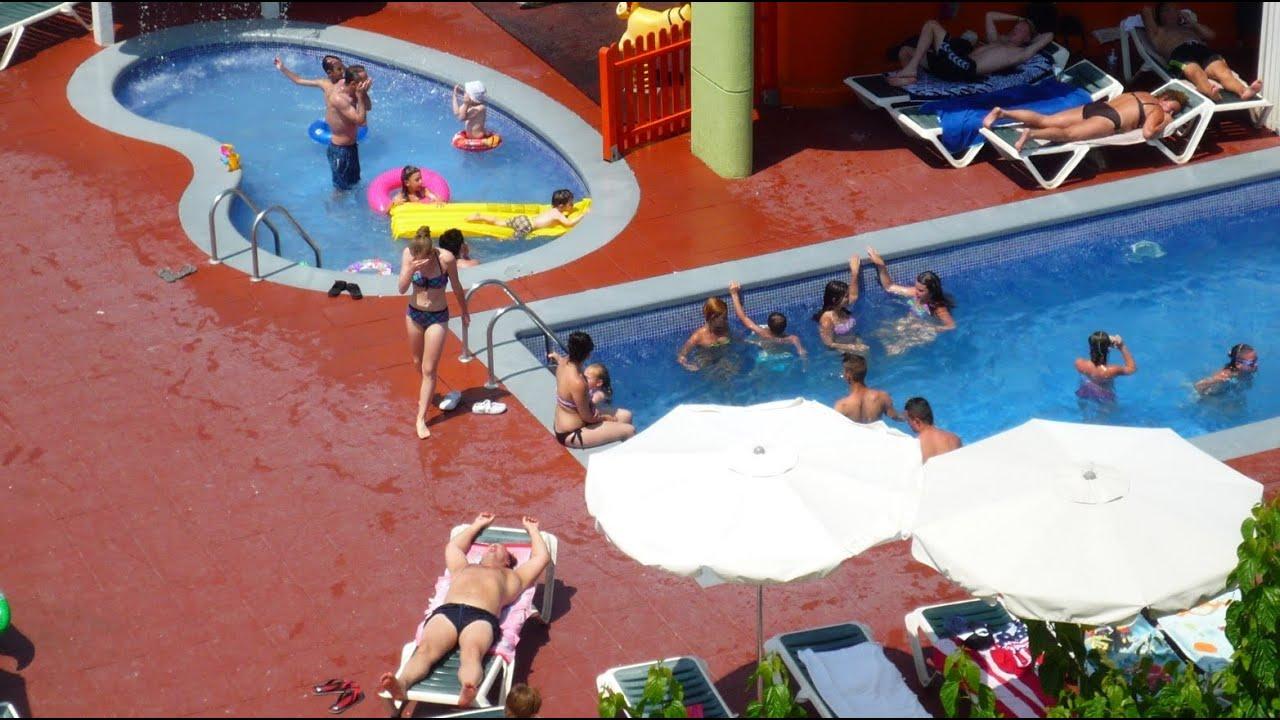 hotel maria del mar lloret de mar costa brava catalonia spain youtube. Black Bedroom Furniture Sets. Home Design Ideas