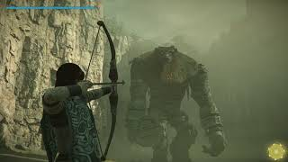 Shadow of the Colossus Remake 4k 60fps HDR - 1st boss