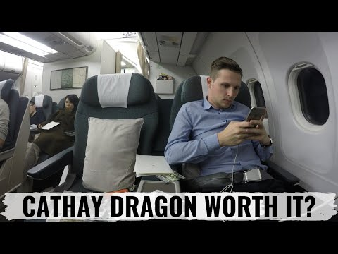 Cathay Dragon Review from Beijing to Hong Kong Business Class