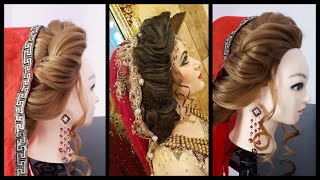 Layered Hairstyles For Long Hair || Hairstyles For Thin Hair || Bridal Updo hairstyles