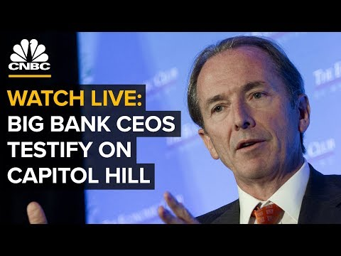 WATCH LIVE: Big Bank CEOs Testify to House Financial Services Committee — Wednesday, April 10 2019