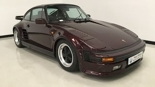For sale - Porsche 911 ( 930 ) Turbo Flatnose - Nick Whale Sports Cars