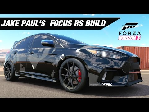 jake paul 39 s camo focus rs forza horizon 3 youtube. Black Bedroom Furniture Sets. Home Design Ideas