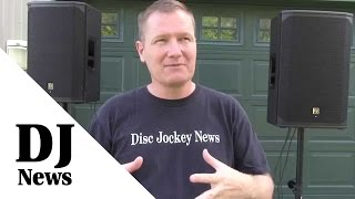 #Electro_Voice EKX Speakers 12P and 15P Comparison: By John Young of the Disc Jockey News