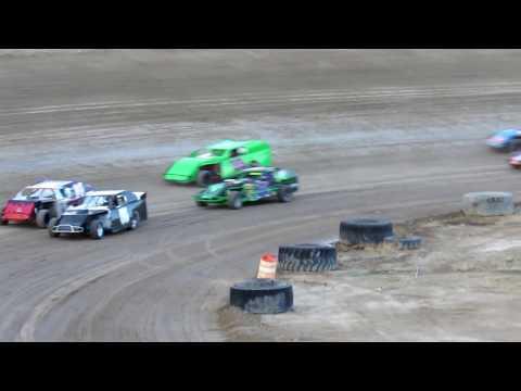 Desert Thunder Raceway WBR 305 Modified Heat Race 4/28/18