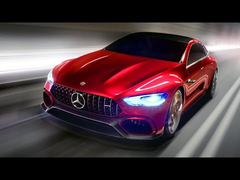 Mercedes-AMG GT Concept – GT4 X290 2018