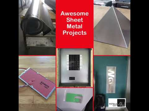 Awesome DIY sheet metal projects @metalscut4u