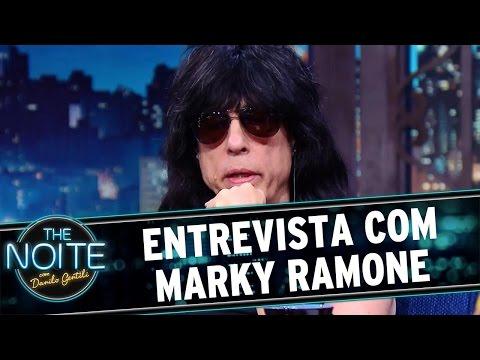 The Noite (26/04/16) - Entrevista com Marky Ramone