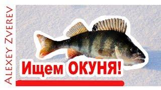 Зимняя рыбалка. Ловля на окуня со ЛЬДА. ПОДВОДНАЯ сьемка.