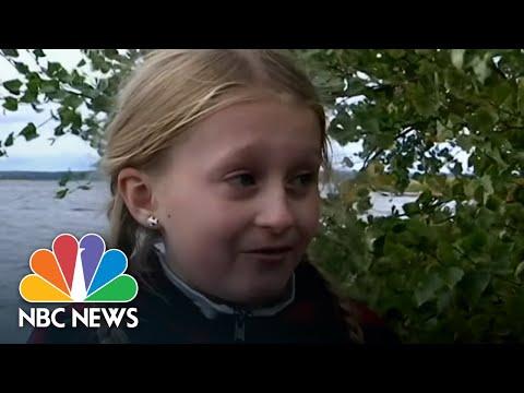 Girl Finds 1,500-Year-Old Sword In Swedish Lake | NBC News