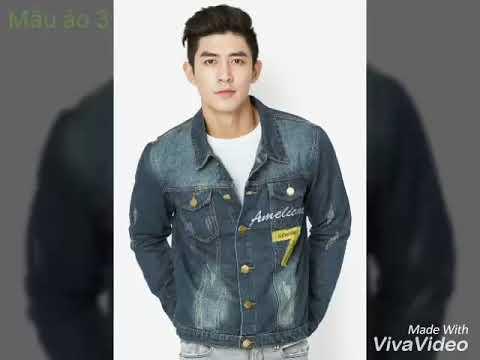 4 Mẫu Áo Khoác Jean Nam Chính Hãng Ti Ti Fashion