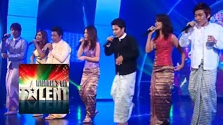 Hangover Myanmar's Got Talent 2015 Final | Season 1