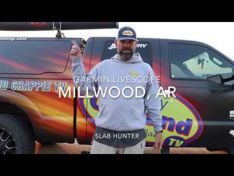 Garmin Livescope  - Millwood Arkansas
