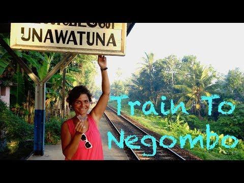 Negombo Sri Lanka Train - Food - Drink - Airport