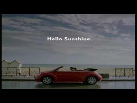 vw werbung vw new beetle cabrio typ 1y hello sunshine youtube. Black Bedroom Furniture Sets. Home Design Ideas