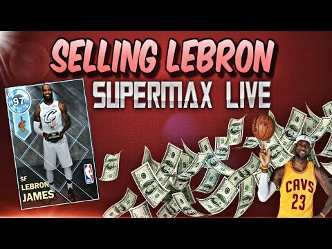 Selling my 97 Diamond Lebron! Stacking MT For New Cards in Nba 2k18 MYTEAM! Livestream