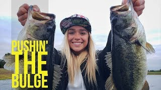 Megabass Power Bomb Spinnerbait Fishing in East Texas with Melissa